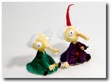Волшебные игрушки из ваты своими руками