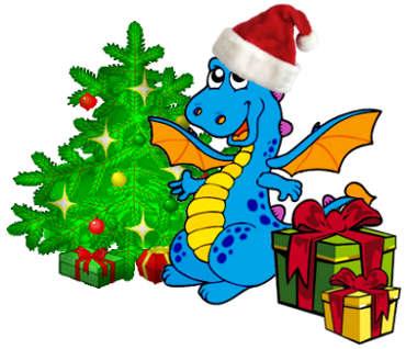 Новый год картинки год дракона