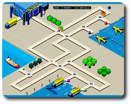 Logistic - online flash game