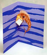 Говорящая рыба из бумаги