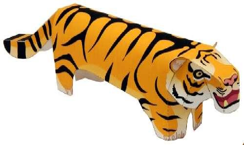 Простой бумажный тигр